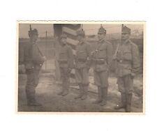 Foto kuk Soldaten stehen still