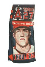 Los Angeles Angels Mike Trout Socks SGA 2017