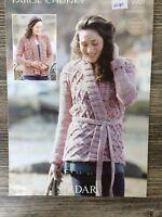 """Sirdar Knitting Pattern: Ladies Jacket, Chunky, 32-54"""", 9907"""