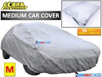 Cobra Medium Size M Full Car Cover UV Protection Outdoor Indoor Breathable