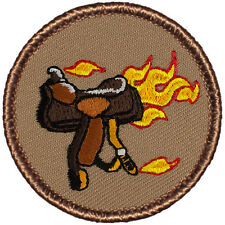 Cool Boy Scout Patches - Blazing Saddles Patrol! (#302)