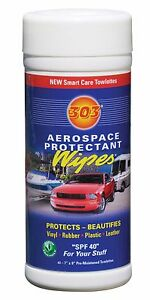 303 Aerospace Protectant Wipes Pre-moistened Towelette Pack 30910