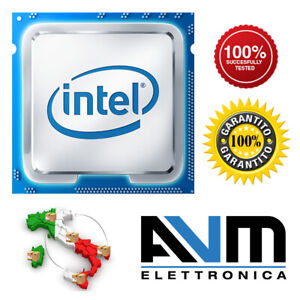 CPU Processore Intel Pentium Core2 Duo Core i7 i5 i3 LGA 1151 1155 1150 1156 775