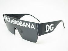 Authentic Dolce & Gabbana DG 2233 01/87 Black w/Grey Sunglasses DG2233