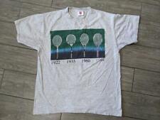 1990s vintage Wilson usa made Tennis tee shirt Medium racquet pro staff Sampras