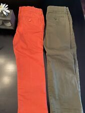 Gap Kids Boys Khakis Pants - Size 5 Lot Of 2