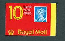 JC3a Type 4  Cyl: W1 W1, Incorrect rates 10 x 15p Walsall Barcode Booklet