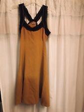 Galliano Women's Yellow Dress