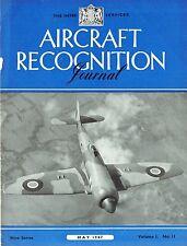 AIRCRAFT RECOGNITION JOURNAL MAY 47: DAKOTA/ SHORT FLYING BOATE/ JET PROPULSION