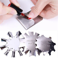 Easy French Tip Smile Cut Line Edge Cutter Stencil Trimmer Clipper Nail Art Tool
