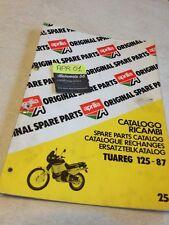 Aprilia parts list 125 Tuareg 1987  liste pièce détachées catalogo ricambi