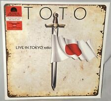 LP TOTO Live In Tokyo 1980 (RED Vinyl, GERMANY, RSD 2020) NEW MINT SEALED