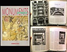 MONUMENTS HISTORIQUES champs-élysées _ n. 172 / JANVIER-FEVRIER 1991 _ Parigi