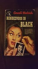 "Cornell Woolrich, ""Rendezvous in Black,""  1949, Pocket 570, VG+, 1st"