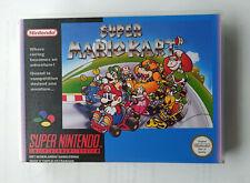 Boite pour jeu Super Mario Kart (Nintendo SNES)