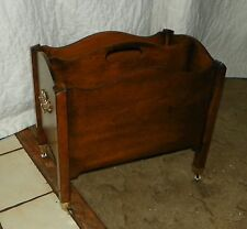 Mahogany Magazine Rack  (HD65)