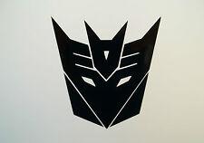 2 x Transformers Decepticon Car Side Mirror Wing Mirror Vinyl Decal Stickers Van