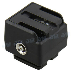 JJC JSC-5 Adpater for Standard ISO Hot Shoe to Sony/Maxxum Camera With Hot Shoe