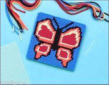 Kids Crafts – Monarch Butterfly Needlepoint Kit