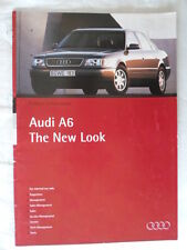 AUDI A6 Saloon 1994 rare internal Audi Product Information prestige brochure