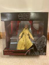 Star Wars Surpeme Leader Snoke Throne Room Black Series 6 Inch New