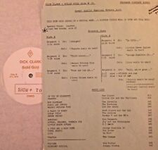 RADIO SHOW: DICK CLARK GOLD 70 FOOD GOLD! TOM GLASER, ARCHIES, CHAPS, HOT BUTTER