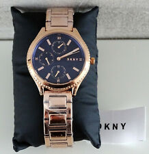 DKNY WOODHAVEN NY2661 Damenuhr Uhr Armbanduhr Roségold NEU mit BOX OVP