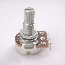 10 pcs A25k long Split shaft 18mm ELectric Bass Guitar Volume Tone Potentiometer