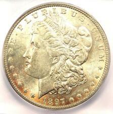 1897-O Morgan Silver Dollar $1 - Certified ICG MS62 (BU UNC) - $1,880 Value!