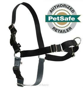 PetSafe/Premier Pet Easy Walk Harness X-Large Black/Silver