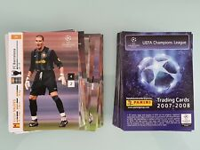 Panini UEFA Champions League 2007-2008 Player Update Trading Cards Pick Any Card