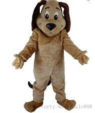 Fur Tan Dog Mascot Costume Suit Cosplay Animal Party Game Dress Adults Handmade