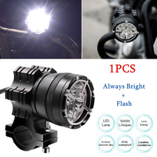 1*Motorcycle Electric Vehicle Explosion-proof Network LED Glare Headlights DC12V