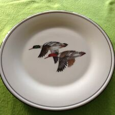 Lenox China Special Plate Picturing A Pair Of Flying Geese Plate Is 10 Inch