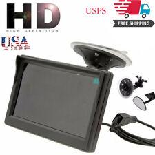 "TFT LCD HD Screen Monitor For Car Rear Reverse Backup Cam 5"" Screen 800*480"