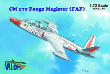 Valom Plastic model kit 72083 1:72nd scale Fouga CM170 Magister French Air Force