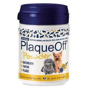 PlaqueOff™ Animal 60g Tartar & Plaque aus Entfernung Hund Katze