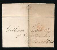 SCOTLAND 1804 BISHOP MARK EDINBURGH OPEN CIRCLE to FALKIRK