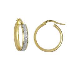 Pendientes de joyería de metales preciosos sin piedras de oro amarillo oro
