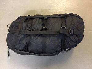 US Army Stuff Sack Compression für Schlafsack Kompressionssack schwarz