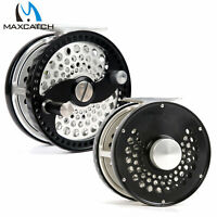 Maxcatch 3/4/5/6/7/8/9/10WT Classic Fly Fishing Reel Clicker Disc Drag System