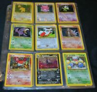 Complete Set of Neo Revelation All 66/64 Pokemon Trading Cards Including Secrets