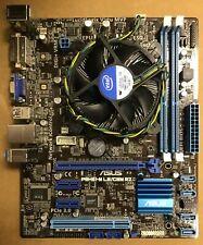 ASUS P8H61-M LE/CSM R2.0 Motherboard, Intel CPU, & Intel Heatsink / Fan