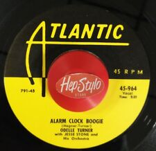 ODELLE TURNER/LAURIE TATE 45 RE-ALARM CLOCK BOOGIE/ROCK ME DADDY- ATLANTIC R&B