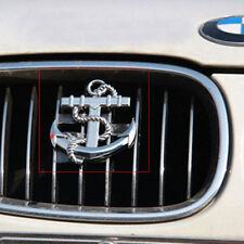 3D Decal Metal Emblem Badge Car Front Grille Side Logo for Anchor (silver)