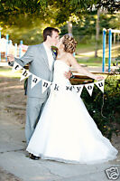 WEDDING & PARTY BUNTING, BANNER, SIGNS, PHOTO BOOTH