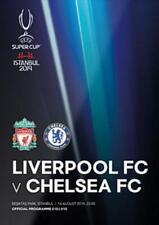 * 2019 UEFA SUPER CUP - LIVERPOOL v CHELSEA - OFFICIAL PROGRAMME & POSTER *