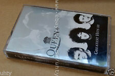 QUEEN III GREATEST HITS VERY RARE UKR OFFICIAL ORIGINAL LONG TAB TAPE CASSETTE