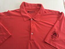 Coral Bermuda Sands Stephen F Austin Golf Club Polo Shirt Mens XL X-Large (P3)