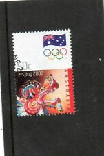 SG 3010 AUSTRALIA OLYMPIC GAMES BEIJING VERY FINE USED STAMP